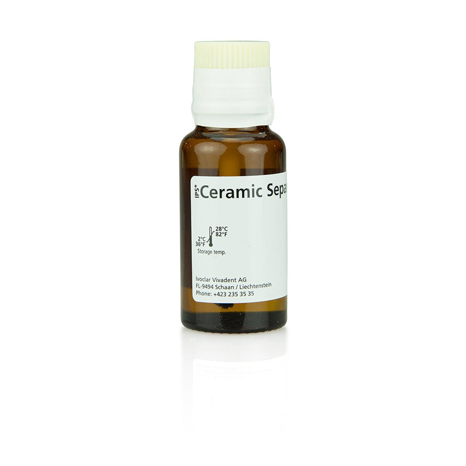 IPS Ceramic Sep. Liq. w. Brush 15 ml
