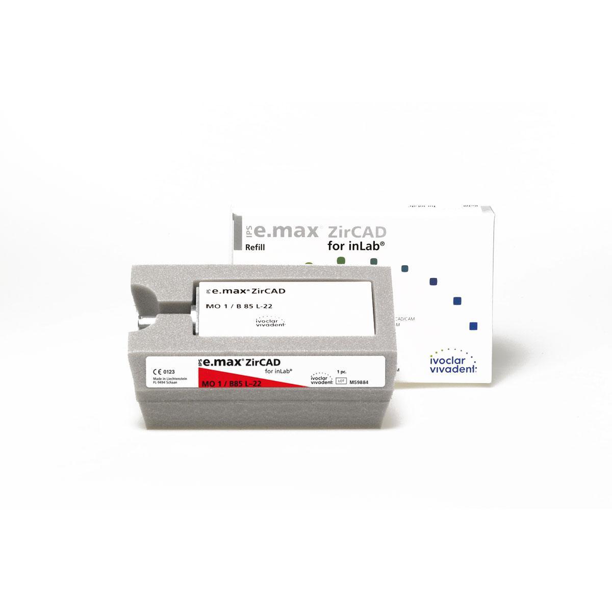 IPS e.max ZirCAD inLab MO0 B85 L-22/1