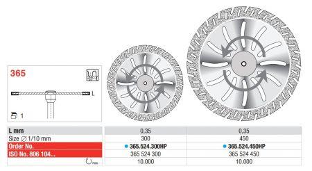 Diamantscheibe - Flex
