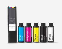 Color Kit (Base 800 ml, Pigments 115 ml C M Y K W, Syringes, Recipe Book)