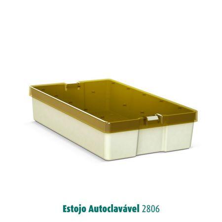 AUTOCLAVABLE CASE - MODEL 2806 - WITH 1 BASE1 case 51X150X54mm   1 base