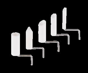 Ceramic holding pin set, égető tüskék aluoxid köpennyel 5 db