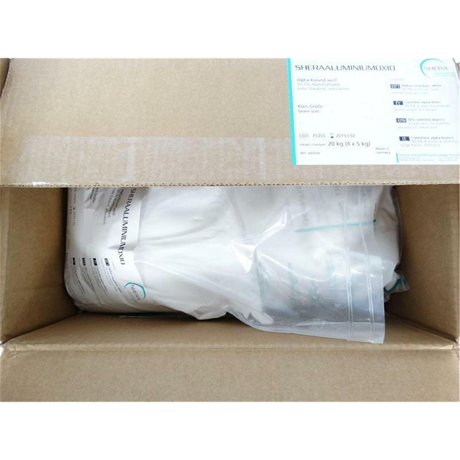 Shera Aluminiumoxid, White 250 my, 5 kg