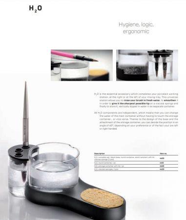 H2O, viscose sponges, 2pcs