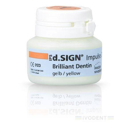 IPS d.SIGN Briliant Dentin 20 g yellow