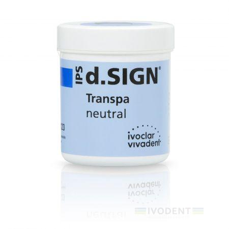 IPS d.SIGN Transpa 100 g neutral