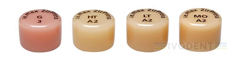 IPS e.max ZirPress LT C2 5 pcs