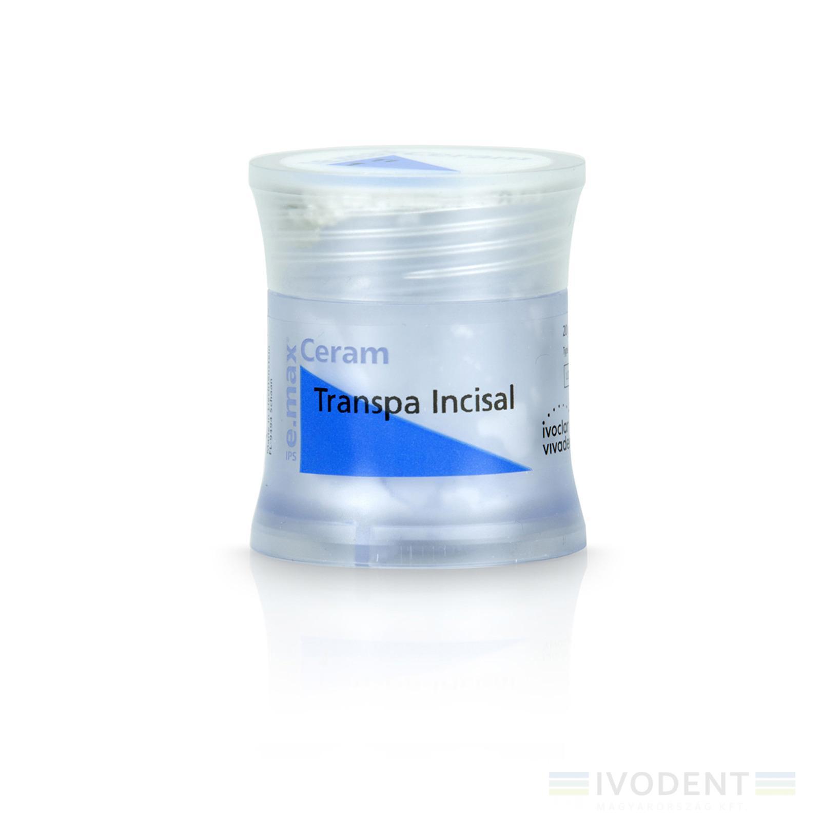 IPS e.max Ceram Transpa Incisal 20 g 1